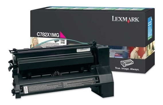 Toner Lexmark C782 X782 C782x1mg Magenta Original Lacrado