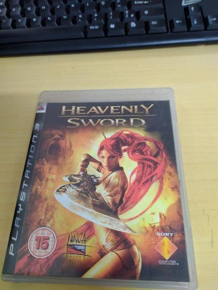 Jogo Heavenly Sword Original Lacrado Mídia Física Ps3