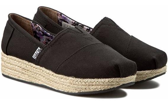 Zapato De Tela Bobs Alpargata Skechers Para Dama