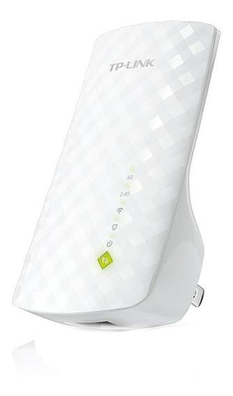 Repetidor Tp-link Wifi R Ac750 2.4ghz 300mpbs - Re200-branco