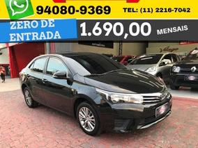 Toyota Corolla Gli 1.8 Flex Aut. 2016 Zero De Entrada