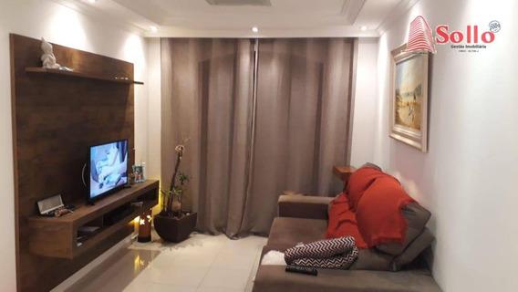 Apartamento Com 3 Dormitórios À Venda, 79 M² - Vila Rosália - Guarulhos/sp - Ap0414