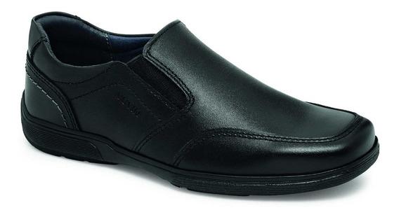 Zapato Escolar Niño Piel Negro Yuyin 29012