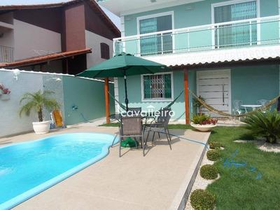 Casa Residencial À Venda, Jaconé, Saquarema. - Ca2816
