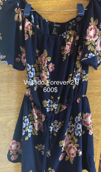 Vestido Forever 21 Floreado Original