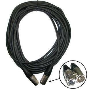 Cable Canon Canon Xlr - 3 Metros Microfono Consolas Potencia