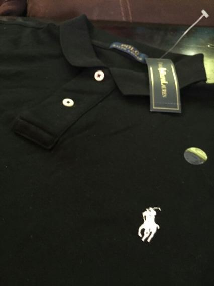 Hermosa Playera Polo Ralph Lauren Xl Custom Fit Nueva