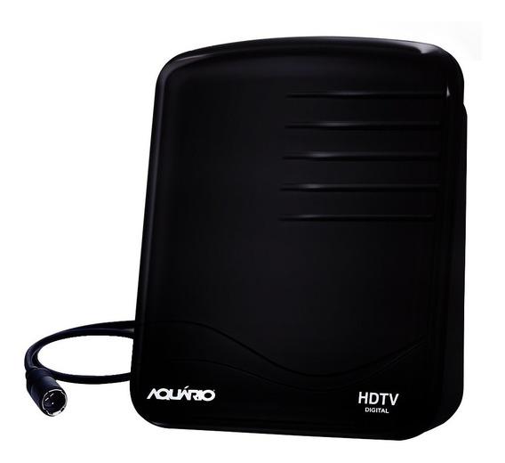 Antena Interna Uhf Hdtv Digital Dtv-1000 Aquário
