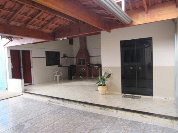 Casa Com 4 Dormitórios À Venda, 165 M² Por R$ 400.000 - Santa Maria Ii - Rio Das Pedras/sp - Ca2655