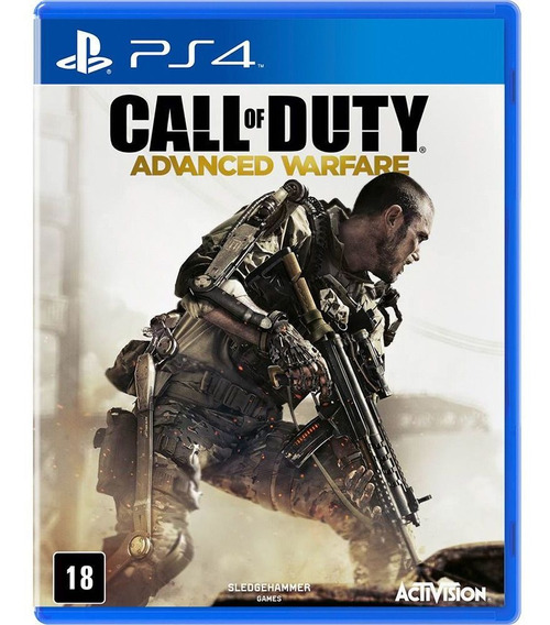 Call Of Duty Advanced Warfare Ps4 Midia Fisica Em Espanhol