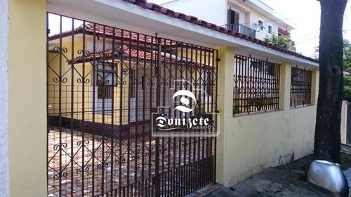 Casa Com 2 Dormitórios À Venda, 150 M² Por R$ 745.000,00 - Vila Floresta - Santo André/sp - Ca1402
