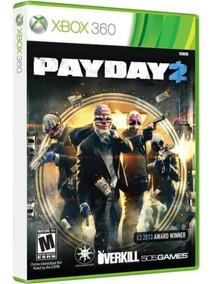 Jogo Payday 2 Xbox 360 Pay Day 2 Física Original Lacrado