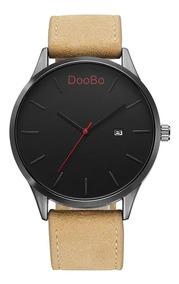 Relógio Masculino Pulseira Resistênte Com Data Doobo