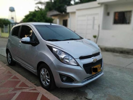 Chevrolet Spark Gt- Plata - 2014 - 77.100 Km