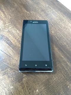 Celular Sony Xperia J St26a Bem Conservado Com Defeito