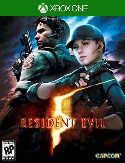 Resident Evil 5 Xbox One Original (25 Dígitos)