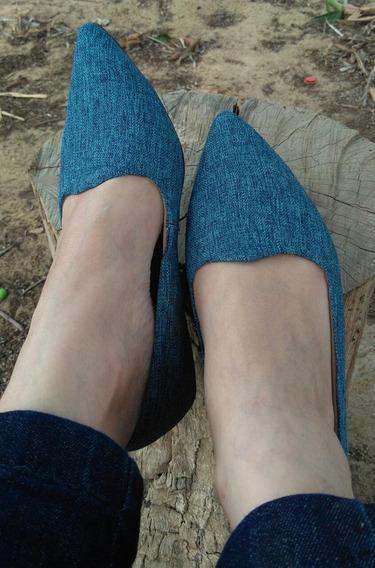 Sapato Confortáve- Bico Fino- Liquidação.