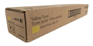 Toner Original Xerox C70/ C60 Yellow
