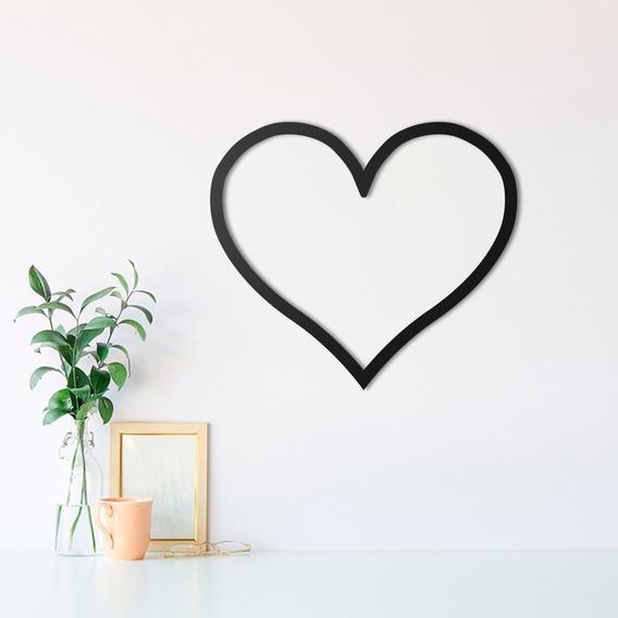 Quadro Decorativo Parede Coração Love 30c Namorados Presente