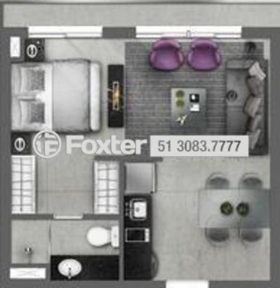 Apartamento, 1 Dormitórios, 38.49 M², Centro - 163816
