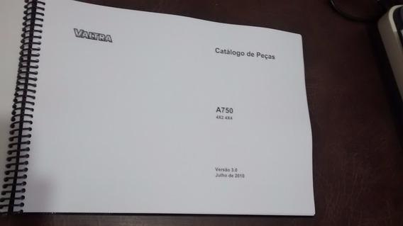 Catálogo Peças Trator Valtra A 750 - Catálogo Impresso