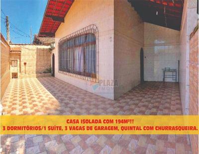 Casa Residencial À Venda, Canto Do Forte, Praia Grande. - Ca2598