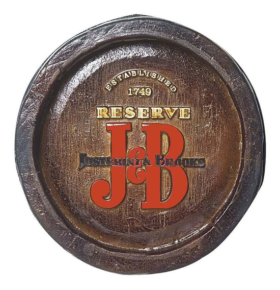 Barril Mini De Parede Em Resina - Decoração - Jeb Whisky
