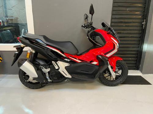 Honda Adv 150 0 Km Pronta Entrega 2021 Vermelha Scooter