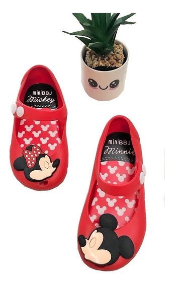Sandalia Miky Y Mimi Mouse