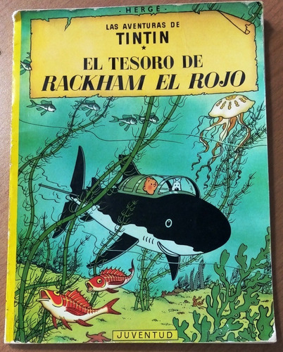Libro De Historietas Clasico De Tin Tin :el Tesoro De Rackha