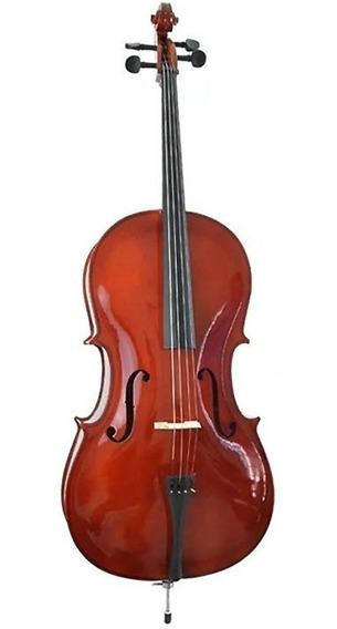 Violoncelo Cello 4/4 Vivace Beethoven Profissional C/ Bag