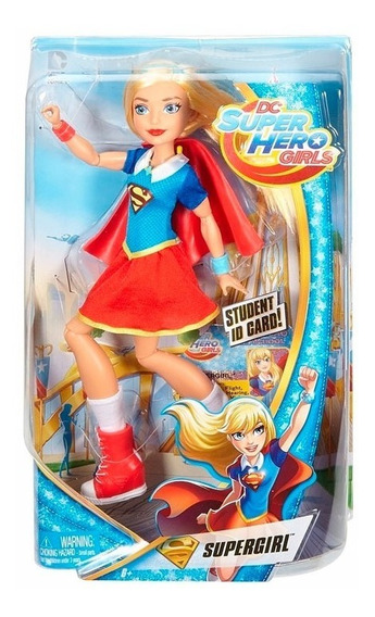 Dc Super Hero Girls Muñeca Supergirl Dlt61 Envio Full