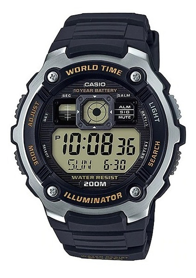 Relógio Casio Masculino Digital Standard Preto Original