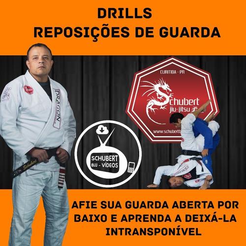 Jiu-jitsu - Aulas Drills Reposição De Guarda - Gracie System