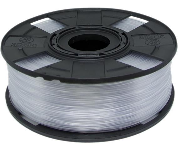 Filamento Abs Premium 1,75 Mm 500g Impressora 3d Cristal