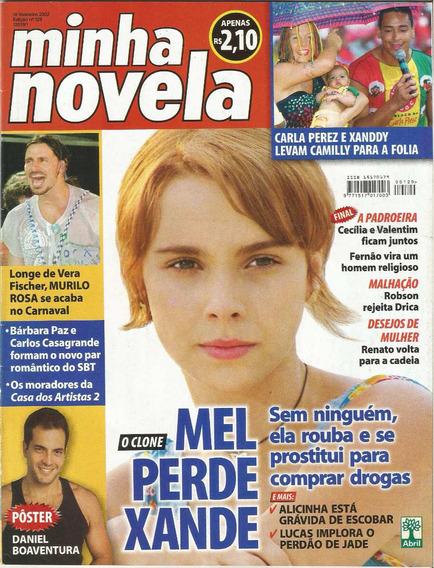 Revista Minha Novela 129 - Fevereiro 2002 - Capa O Clone