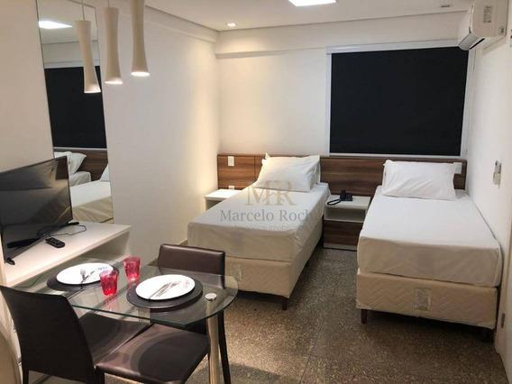 Flat Adaptado Com 1 Dormitório Para Alugar, 29 M² - Buritis - Belo Horizonte/mg - Fl0010