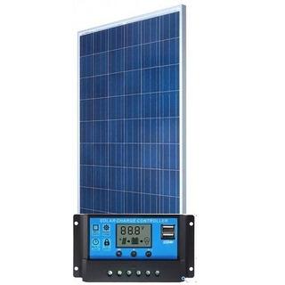 Kit Placa Controlador Painel Solar Fotovoltaico 330w 62 Kw