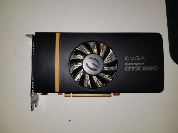 Placa De Video Evga Gtx 560 1gb Ddr5
