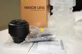 Lente Objetiva Nikon 85mm F/1.8 Af-s Nikkor Parassol Caixa