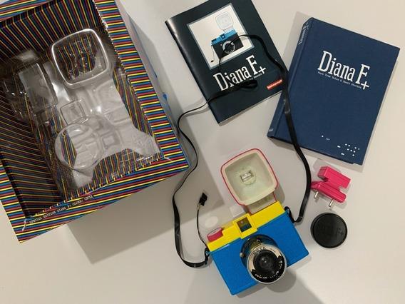 Câmera Lomo Diana F+ Special Edition Cmyk | Nunca Usada!