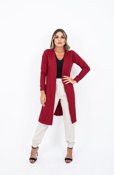 Conjunto 2 Cardigan Feminino Casaco Kimono Longo Promoção