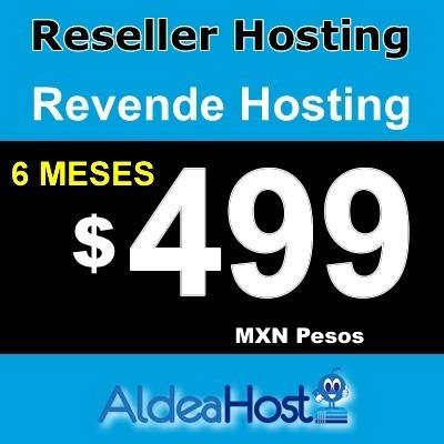 Hosting Reseller 6 Meses 5 Gb Ssd Whm * Cpanel * 99%online