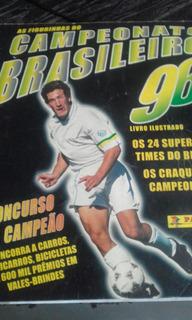 Álbum Figurinhas Campeonato Brasileiro 96 Completo