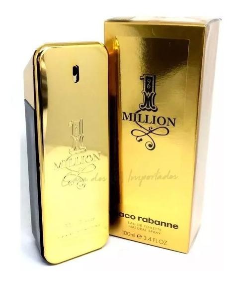 Perfume One Million 100 Ml Edt - Masculino -paco Rabanne Top