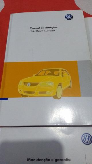 Manual Proprietario Volkswagen Gol Parati Saveiro G4 2009