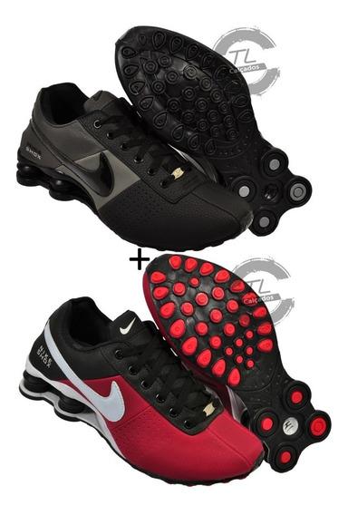 Tenis Sxhox Nike Deliver 4 Molas Avenue Original Kit 2 Pares