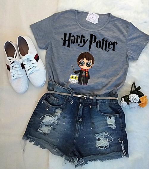 Blusa Harry Potter Camiseta Feminina Promoção!!!