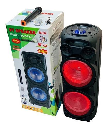 Parlante Bluetooth Torre 30 Watt  / Karaoke / Fm / Aux / Sd