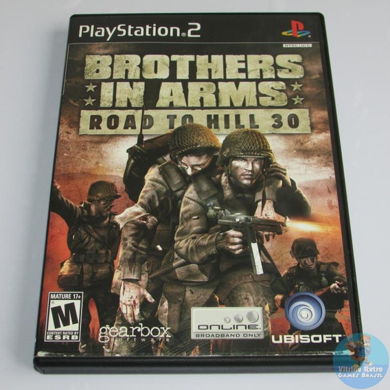 Ps2 Brothers In Arms Road To Hill 30 Original Americano !